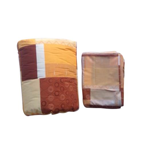 ผ้าห่มนวมฝ้ายแท้ 100% ขนาด 4.5 ฟุต สีน้ำตาล
