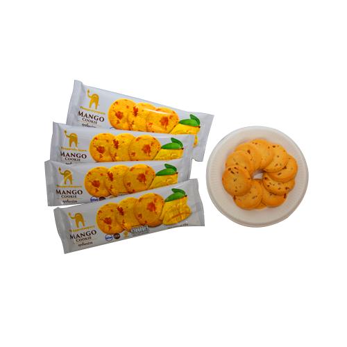 คุกกี้มะม่วง รสชาติอร่อยไม่เหมือนใคร บรรจุ 4 ซอง ปริมาณสุทธิ 72 กรัม จำนวน 3 กล่อง
